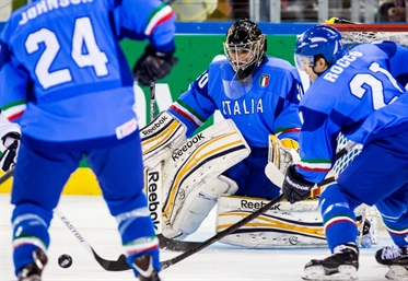 Between the pipes for Italy