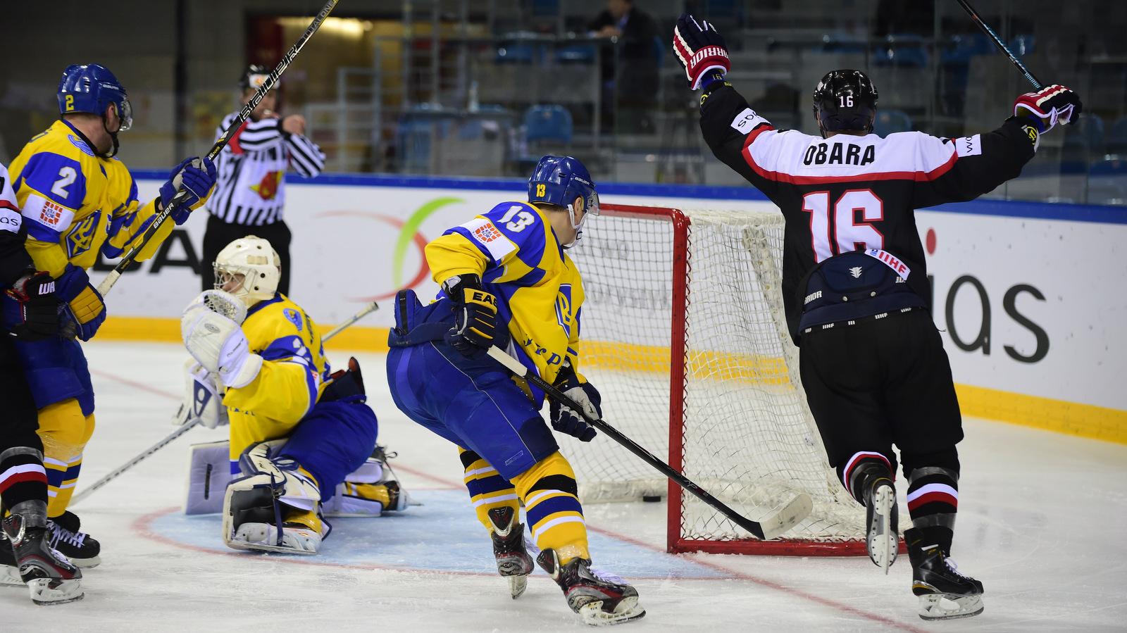 сборная Венгрии, сборная Украины, Сборная Италии по хоккею, сборная Японии, сборная Казахстана, сборная Польши, ЧМ-2019 (первый дивизион)